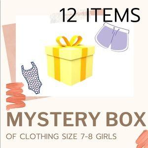 Summer girls clothing size 7 -8 mystery box